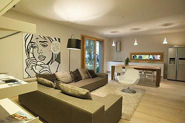 La rivincita dei prefabbricati una casa flessibile ed eco for Pitture per soggiorni