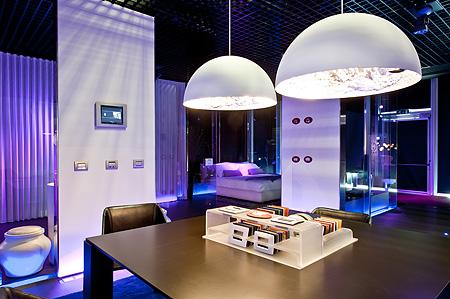 Illuminazione per showroom: showroom panzeri carlo srl. marchioretto