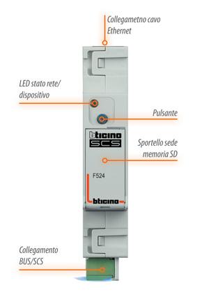 Contatore consumi elettrici bticino