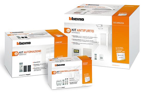 Nuovi kit bticino soluzioni semplici per il comfort e la - Antifurto per la casa ...