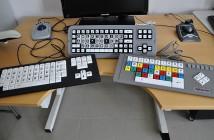 Esempio di tastiere facilitate per ipovedenti