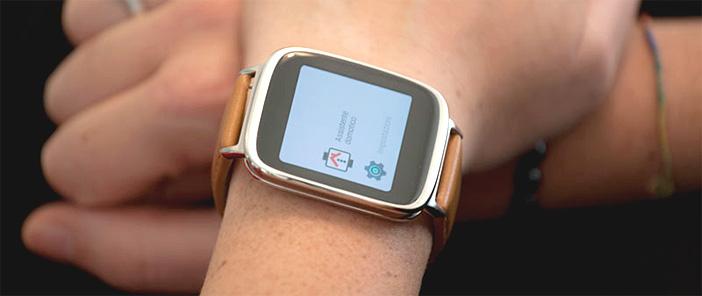 Ikon server: Interfaccia smartwatch