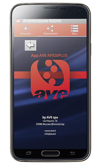 ave-af926PLUS-app