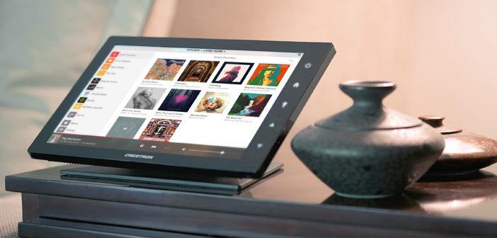 Crestron presenta la nuova generazione di touch panel TSW