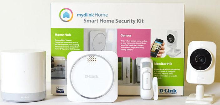 mydlink™ Home Security Starter Kit