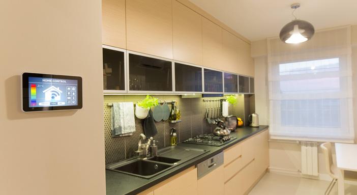 casa domotica mydomotics cucina