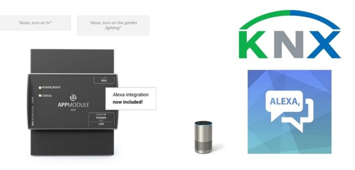 APP Module: Disponibile l'integrazione di Amazon Alexa per KNX