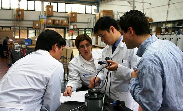 Meeting tecnico ingegneri cinesi