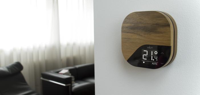 Nasce XILON, il primo cronotermostato smart realizzato in legno