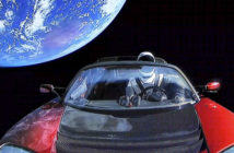 tesla-in-space