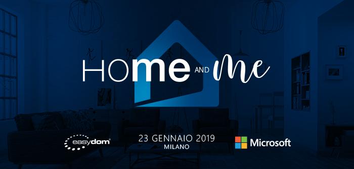 Easydome Home and Me: Milano 23 Gennaio 2019