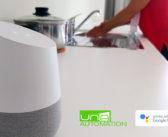 Comanda la domologica UNA con Google Home™!