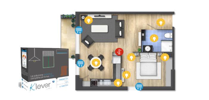 Klever, la soluzione domotica completa per la tua casa