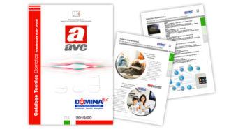 Domotica AVE: online il nuovo Catalogo Tecnico  DOMINA 2019/20