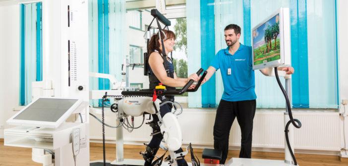 Riabilitazione robotica a Villa Bellombra