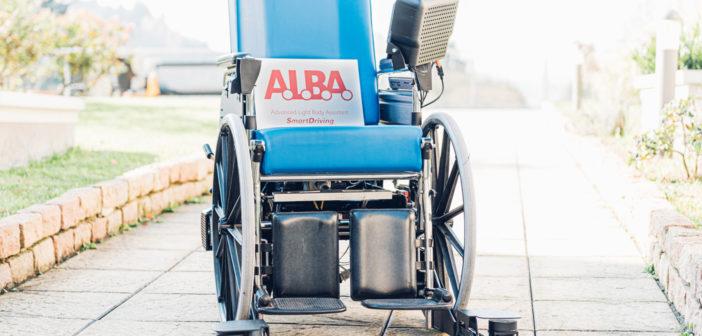 A.L.B.A, la prima carrozzina a guida autonoma che dialoga con l'edificio