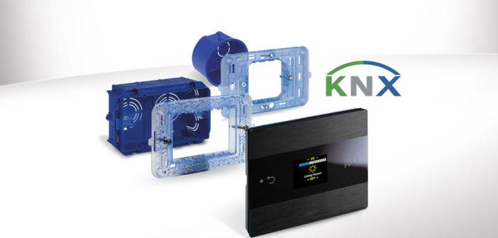 AVE Room Controller KNX: tutte le funzioni di stanza in un device di alto design